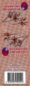 Византийская пехота 10-13 век, набор 1