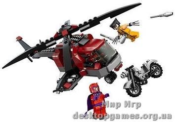 "Lego ""Вертолет росомахи"" Lego Super Heroes"