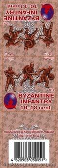 Византийская пехота 10-13 век, набор 4