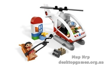 Lego «Вертолёт скорой помощи» Duplo 5794