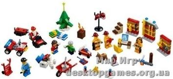 Рождественский календарь Lego City 4428