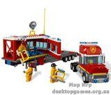 Lego «Передвижной пожарный командный центр» City 4430