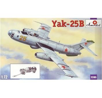 Модель самолета Яковлев Як-25В