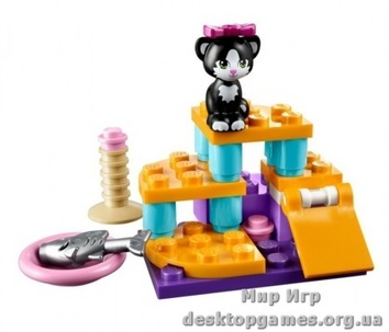 Lego Игровая площадка для кошки Friends 41018