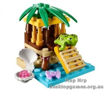 Lego Маленький оазис для черепахи Friends 41019