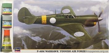 HAset09843 1/48 P-40M «FINNISH A.F.« (самолет)