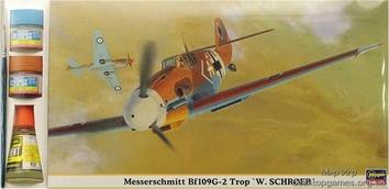 HAset09853 1/48 Bf109G-2 TROP «W.SCHROER« (самолет)