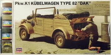 HAset24504 KUBELWAGEN TYPE 82 «DAK« (Авто)