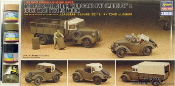 HAset36501 KUROGANE 4WD & ISUZU TX40 (Авто)