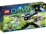 Lego Крылатый истребитель Браптора Legends Of Chima 70128