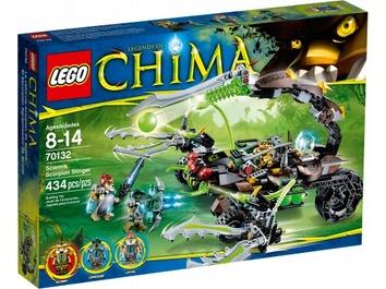 Lego Жалящая машина Скорма Legends Of Chima 70132