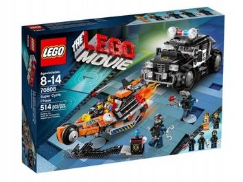 Lego Погоня на мотоцикле Movie 70808