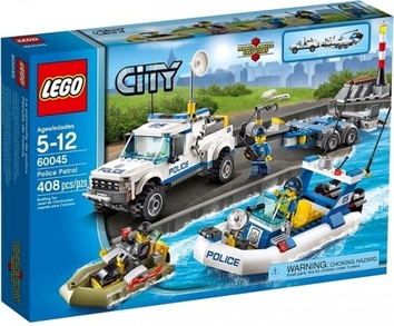 Lego Полицейский патруль City 60045