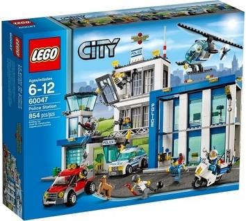 Lego Полицейская станция 60047