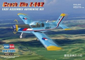 Сборная пластиковая модель самолета Zlin Z-142