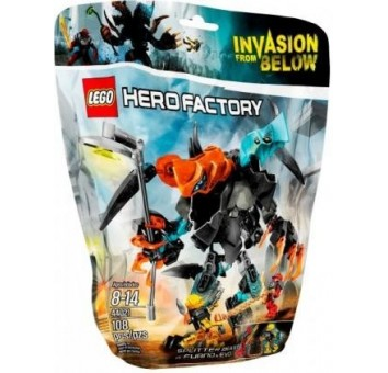 Lego Сплиттер против Фурно и Эво Hero Factory 44021