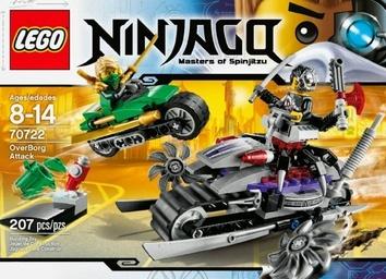Lego Атака Оверборга Ninjago (арт. 70722)