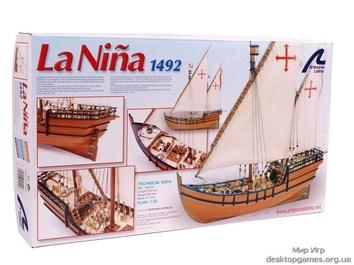 Деревянная модель корабля La Nina (Нинья)