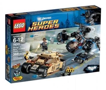 Lego Бетмэн против Бейна Super Heroes (арт. 76001)