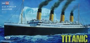 Сборная пластиковая модель корабля Титаник