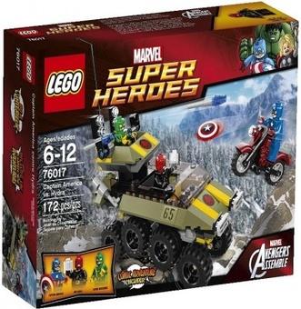 Lego Капитан америка против Гидры Super Heroes 76017