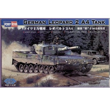 German  Leopard  2  A4  tank