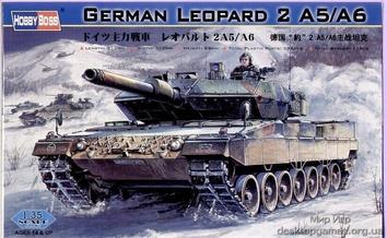 Модель танка Леопард 2 A5/A6
