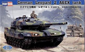 Сборная модель танка Леопард 2 A6EX