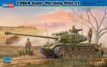 Склеиваемая модель танк T26E4 Супер Першинг Пилот№1