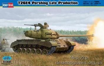 Сборная модель танка T26E4 Першинг последних выпусков