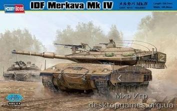 Сборная пластиковая модель танка Меркава Mk IV