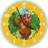 """Часы-пазл """"Маша и медведь"""" 126-02"""