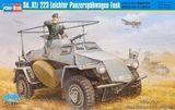 Пластиковая модель бронеавтомобиля Sd.Kfz.223 Leichter Panzerspahwagen Funk