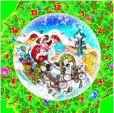 """Часы-пазл """"Новогодняя тройка"""" 126-11"""