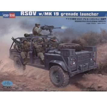 Модель сборная RSOV w/MK 19 grenade launcher