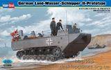Модель немецкого тягача-амфибии Land-Wasser-Schlepper II-Prototype