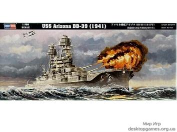 Масштабная модель корабля Аризона BB-39 (1941)