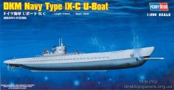 Масштабная модель подводной лодки типа lX-C U-Boat