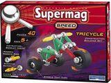 Магнитный конструктор Трехколесный мотоцикл