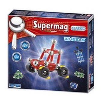Магнитный конструктор Джип Wheels Classik 60 SUPERMAG