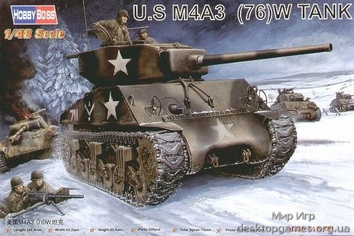 US M4A3 76 (W) Tank
