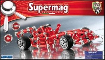Магнитный конструктор Гоночная машина SUPERMAG