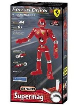 Магнитный конструктор Водитель Ferrari SUPERMAG