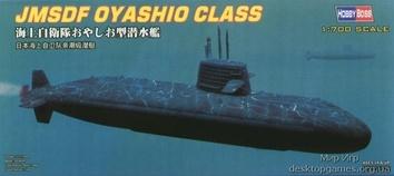 JMSDF Oyashio Class Submarine