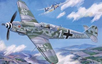 Немецкий истребитель Messerschmitt Bf-109K