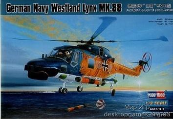 German Navy (Bundesmarine) Westland Lynx MK.88