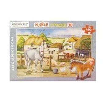 Пазл-3D 150 (Лошадь)