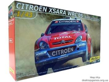 Модель автомобиля Citroen xsara WRC 05