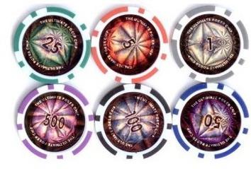Покерный набор 200 фишек, кейс, С4 - фото 4