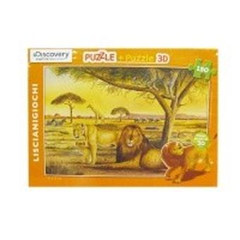 Пазл-3D 150 Лев
